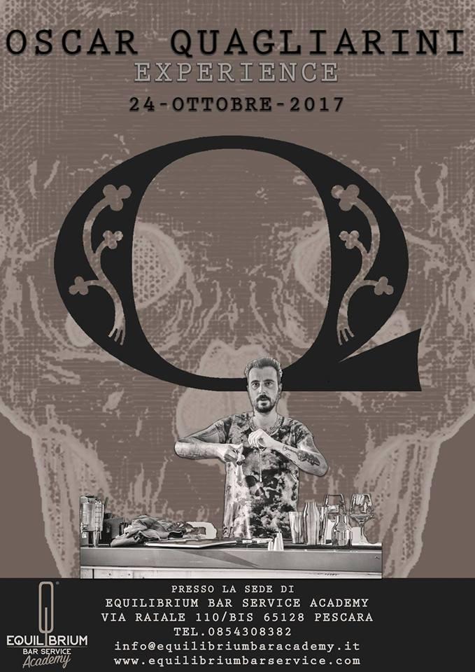 Oscar Quagliarini Experience -Equilibrium Bar Service Academy